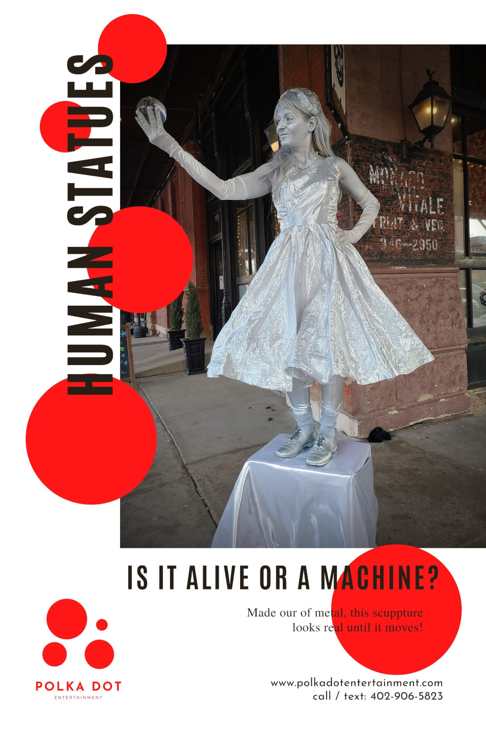 Human Statues for your event.